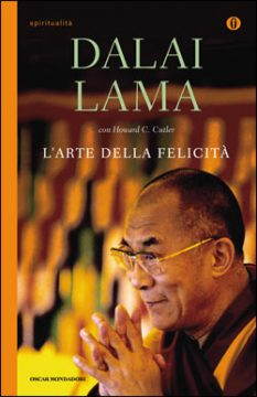 Libro L'arte della felicità Dalai Lama, Howard C. Cutler