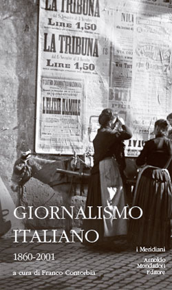 Libro Giornalismo italiano Franco Contorbia