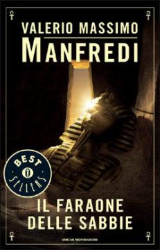 Libro Il faraone delle sabbie Valerio Massimo Manfredi