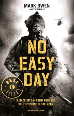 Libro No easy day Mark Owen, Kevin Maurer