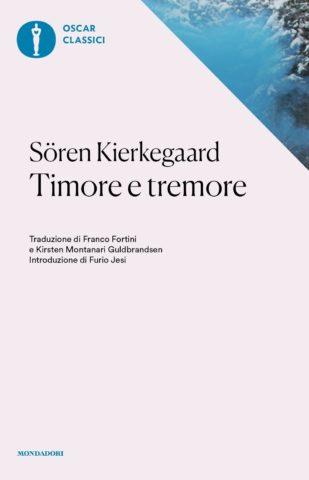 Libro Timore e tremore Sören Kierkegaard
