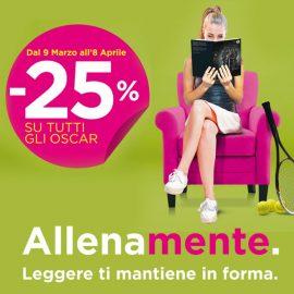 Campagna Oscar Mondadori: -25% per un mese